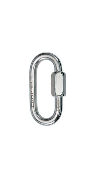 Camp Oval Quick Link 8 mm Stainless Steel